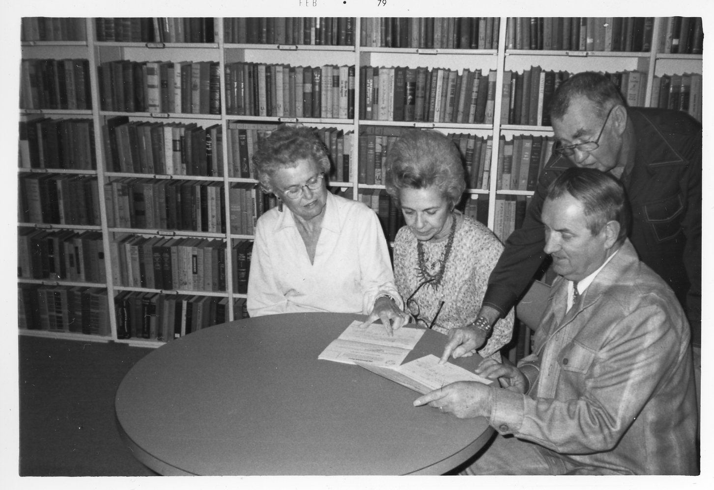 Esther Bone, 2nd from left