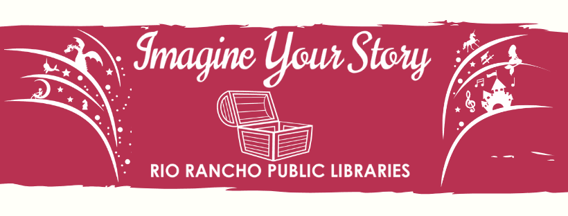 2020 Summer Reading Program Banner: Imagine Your Story